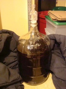 My barleywine in secondary